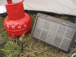 Инфракрасный газовый обогреватель