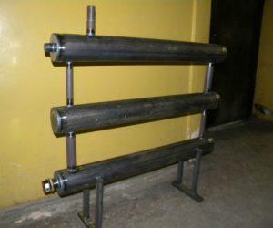 Изготовление батареи отопления из профильной трубы