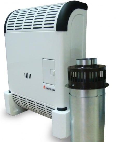 Конвекторы отопления газового типа