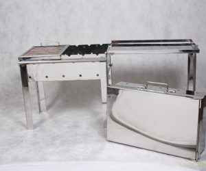 Маленький мангал-чемодан