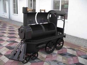 Мангал паровоз