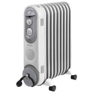 Масляный радиатор с термостатом