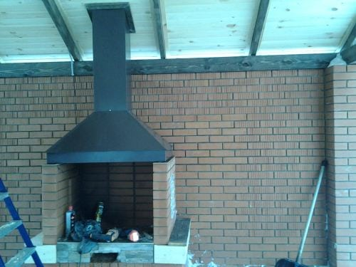 Зонты вытяжки для барбекю отзывы о газовый камин pullover