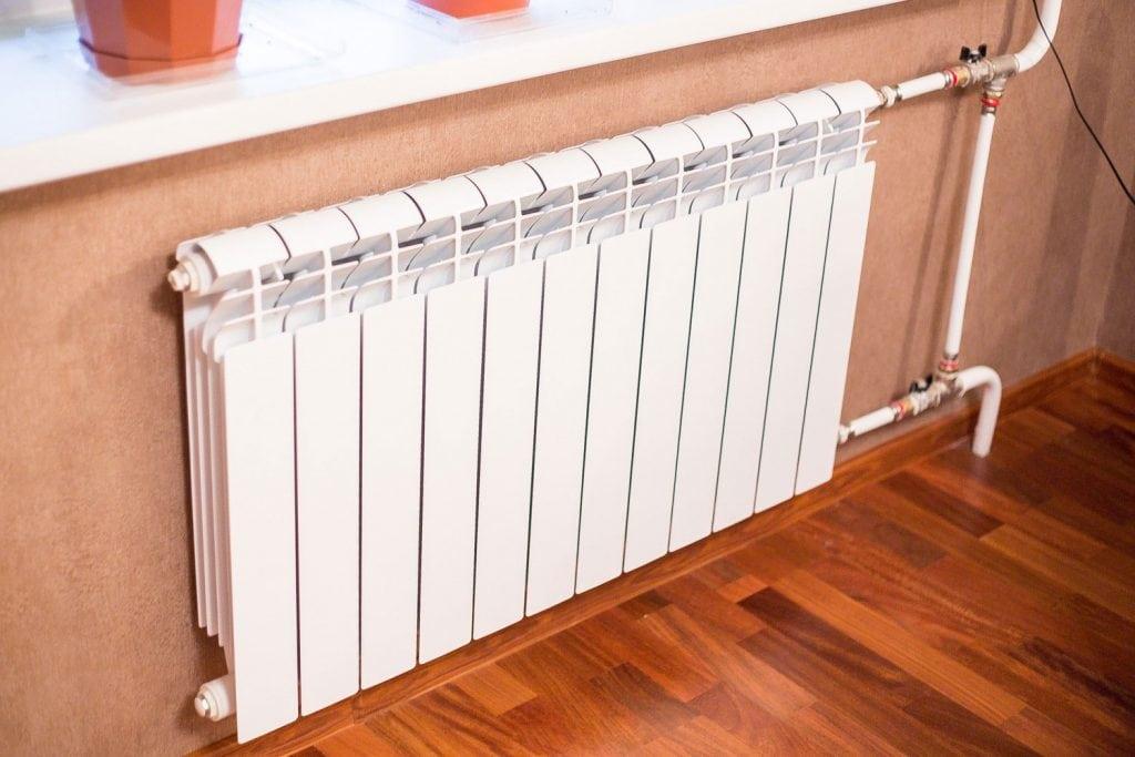 Необходимая мощность радиаторов отопления
