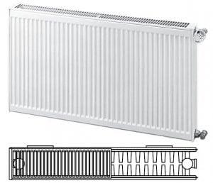 Панельные стальные радиаторы.