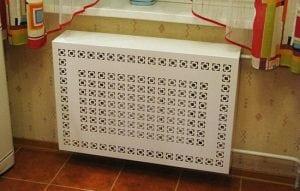 Пластиковые виды решеток для радиаторов отопления