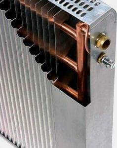 Пластинчатые радиаторы с медными деталями
