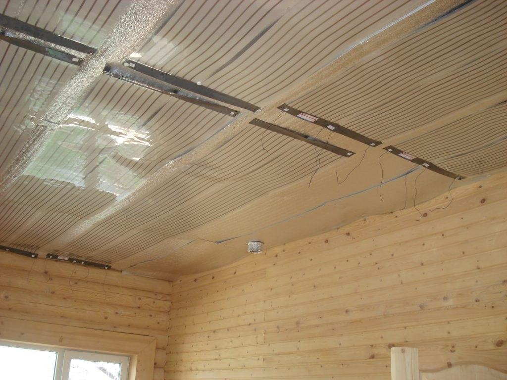 Плёночный обогреватель на потолок