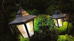 Подвесные светильники на солнечных батареях