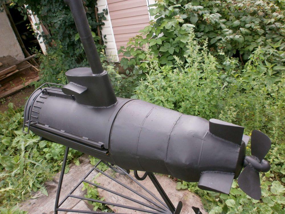 Подводная лодка-мангал