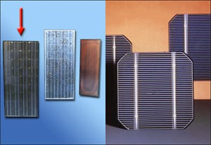 Поликристаллические или монокристаллические солнечные батареи