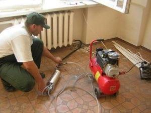Промывка радиатора процесс