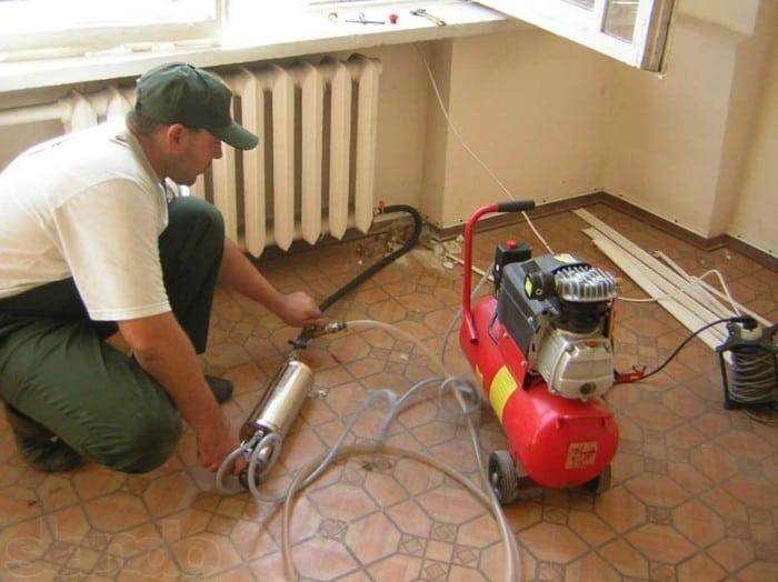 Как промыть батареи отопления в домашних условиях