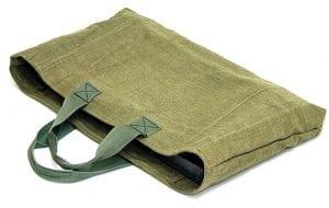 Простая льняная сумка для мангала