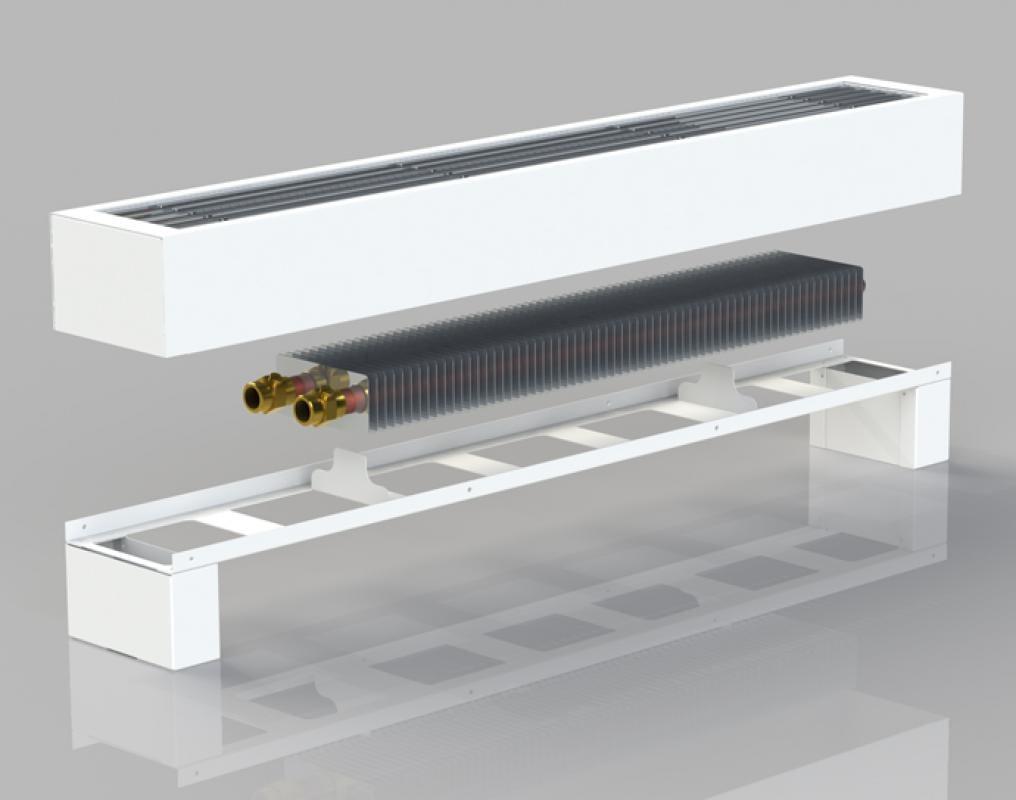 Радиатор пластинчатый под панорамное окно
