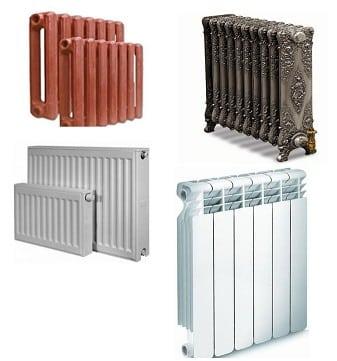 Радиаторы разновидности форм и материалов