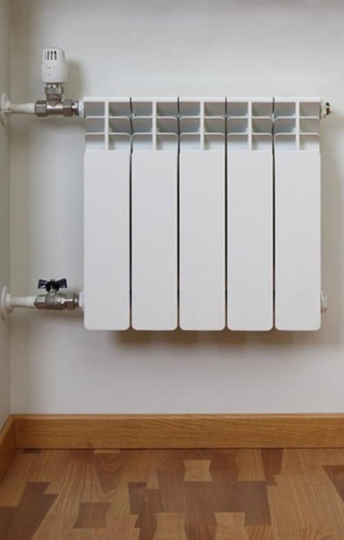Размещение термостата для радиатора отопления