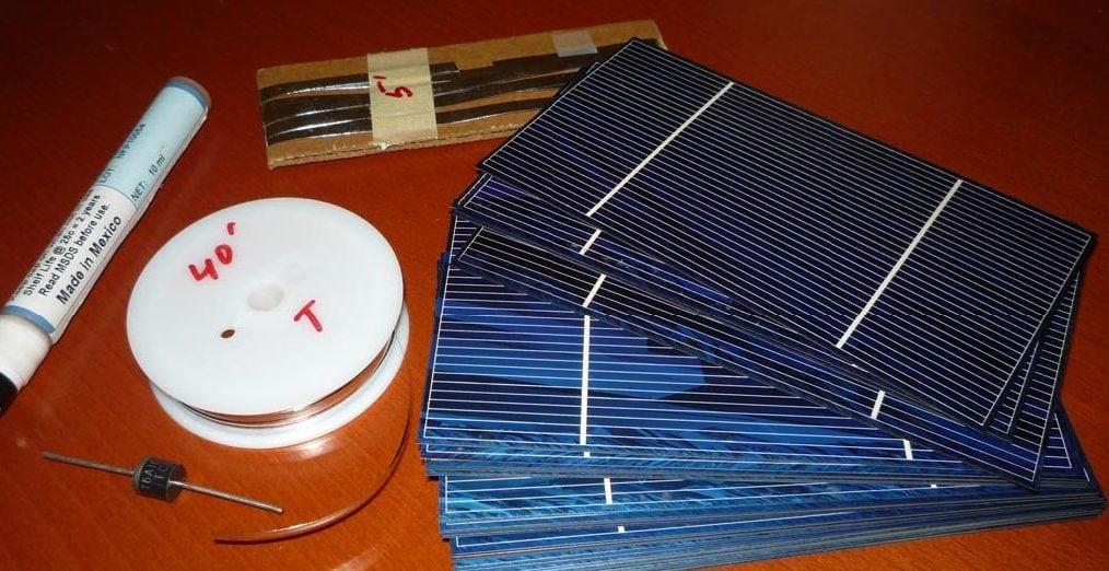 Как сделать руками солнечную панель