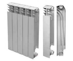 Строение секций радиатора