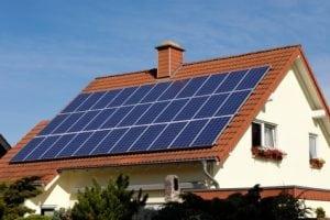 Устанавливка солнечных батареи