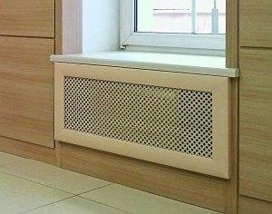 Виды и устройство декоративных решеток для радиаторов отопления