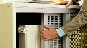 Виды решеток для радиаторов отопления установка