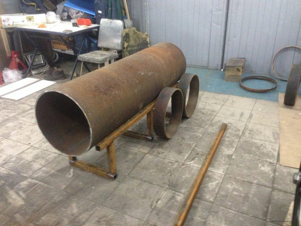 Заготовки для мангала-паровоза