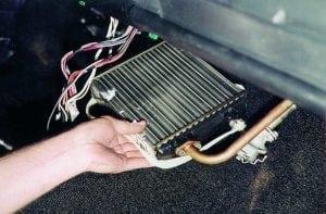 Замена радиатора печи в авто