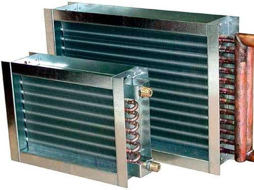 газовый обогреватель из калорифера