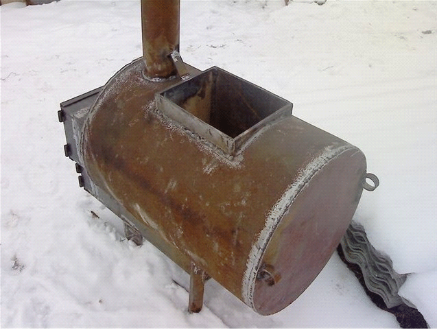Печка для бани своими руками из металла чертежи и фото
