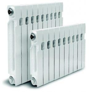 Алюминиевые радиаторы отопления, размеры