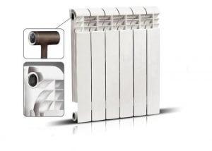 Биметаллические радиаторы, стальная вставка