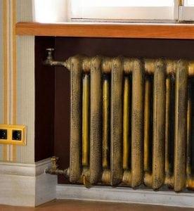 Покраская чугунного радиатора