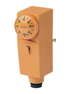 Простой термостат для твёрдотопливного котла