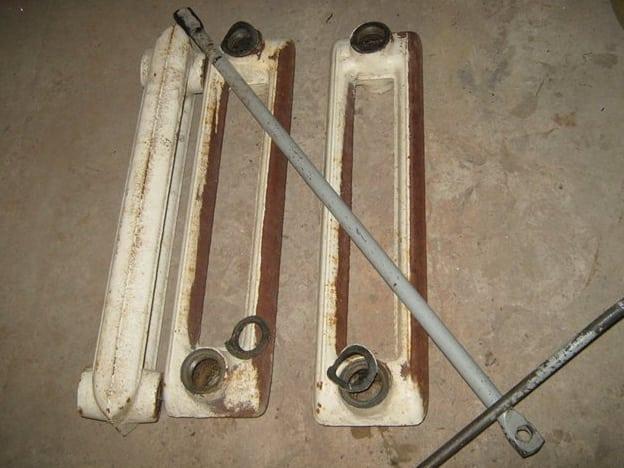 Секции чугунного радиатор