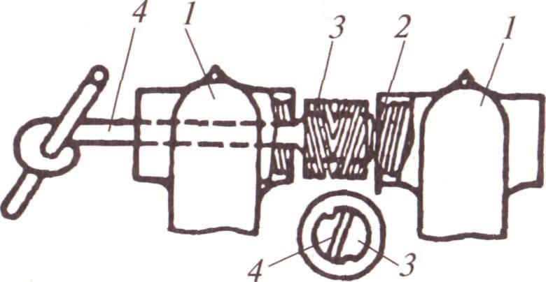 Схема соединения секция радиатора