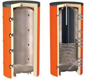 Внутреннее строение теплоаккумулятора