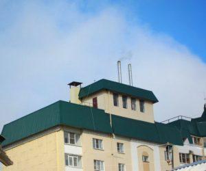 Котельная на крыше