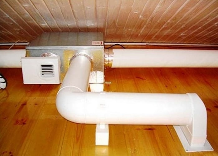 Монтаж вентиляции в комнате своими руками