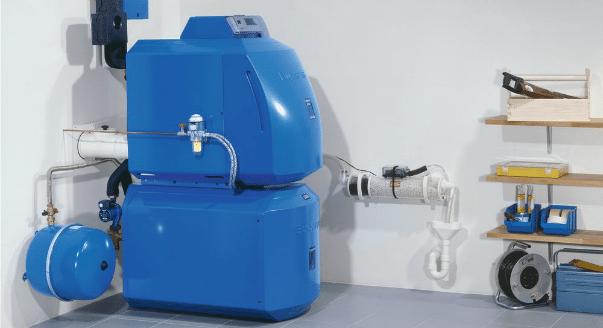 Жидкотопливный котёл отопления