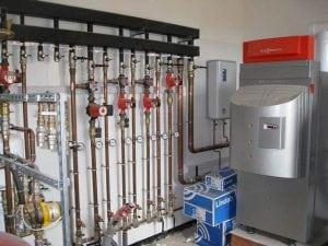 Обвязка нескольких котлов с гидроколлекторами