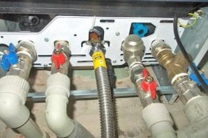 Подключение газового котла