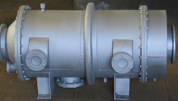 Топка промышленного котла-утилизатора
